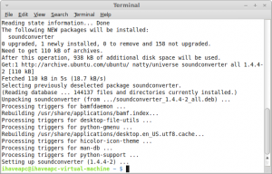 install sound converter in Linux Mint / Ubuntu