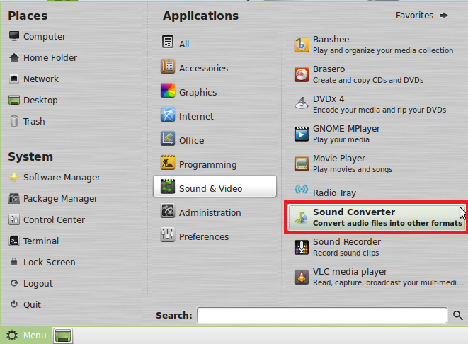 How To Install And Use Sound Converter In Linux Mint