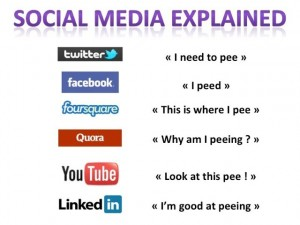 Social media humor explained