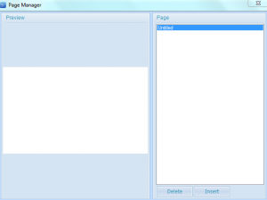 Page Manager in SpringPublisher