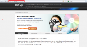 BDlot DVD ISO Master download page