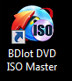 BDlot DVD ISO Master desktop icon