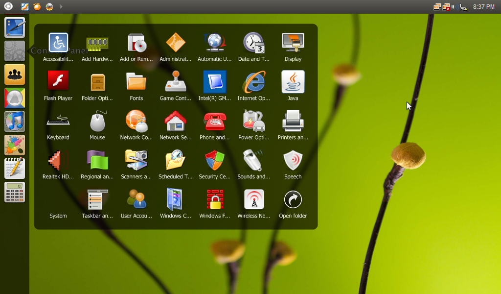 Ubuntu Skin Pack For Windows XP SP3 - I Have A PC | I Have A PC