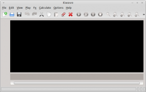 Kwave Sound Editor In Linux Mint / Ubuntu