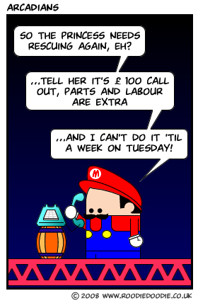 Mario goes professional
