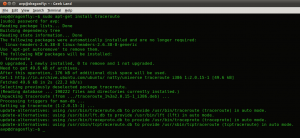 Installing traceroute in Linux Mint / Ubuntu