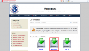 Anomos download page