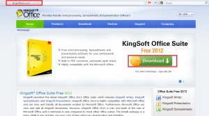 KingSoft Office Suite 2012 Download Page