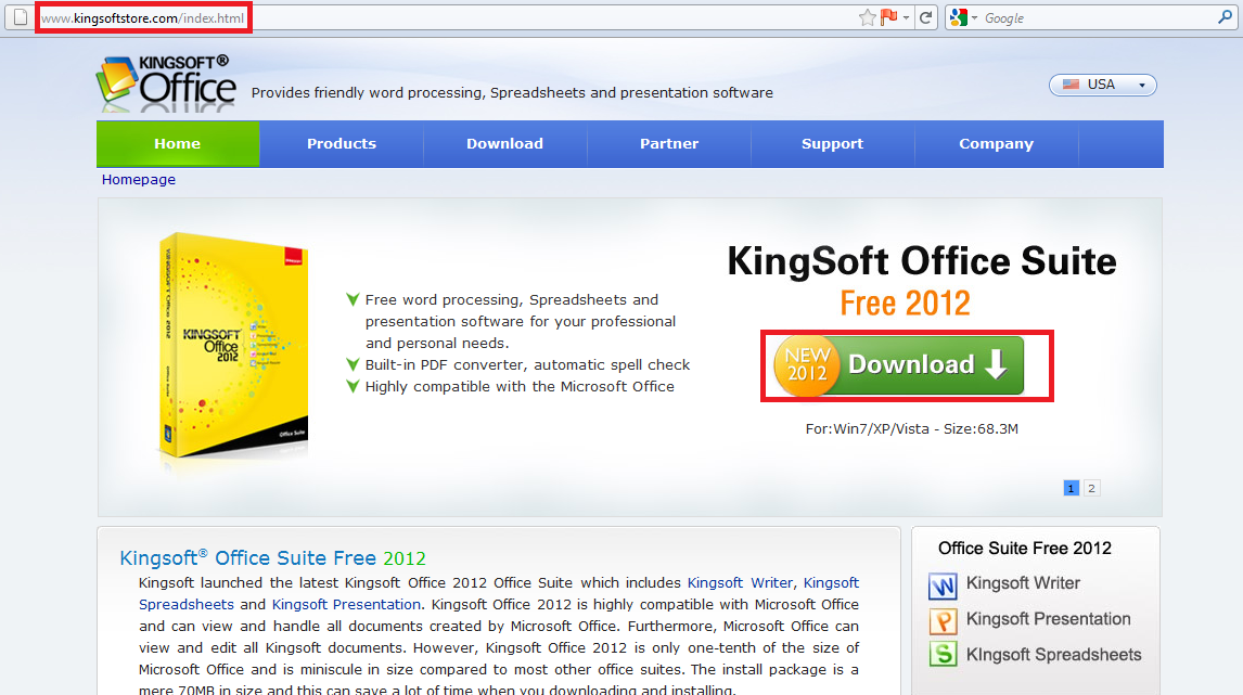 Kingsoft office 2012 a free office suite for windows i have a pc - Free windows office software ...
