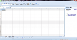 KingSoft Spreadsheets 2012