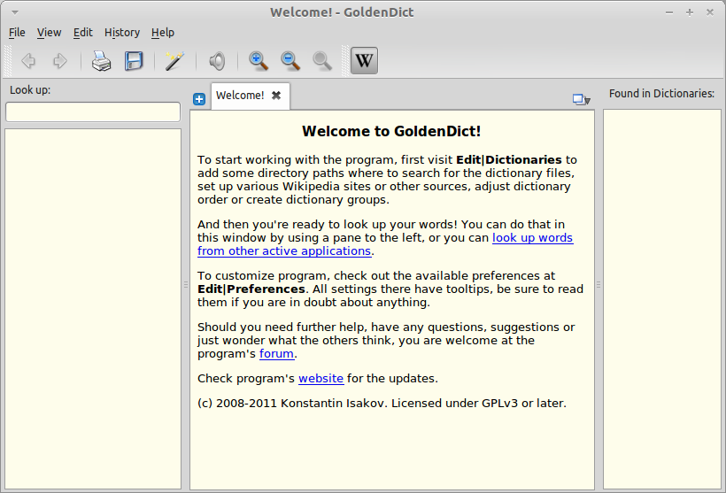How To Install And Use GoldenDict Dictionary Software In Linux Mint