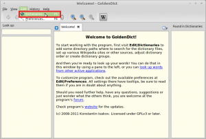 Configuring GoldenDict Dictionary Software In Linux Mint / Ubuntu
