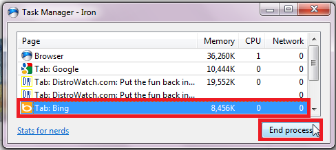 How To Kill Unresponsive Page In Google Chrome - I Have A PC