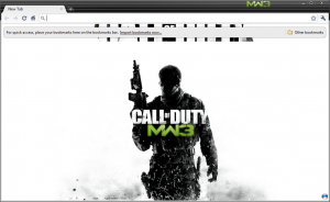 Modern Warfare 3 Theme For Chrome