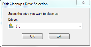 Select disk partition or disk