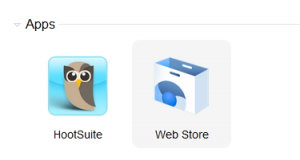Launching Hootsuite app