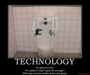 Scary technology