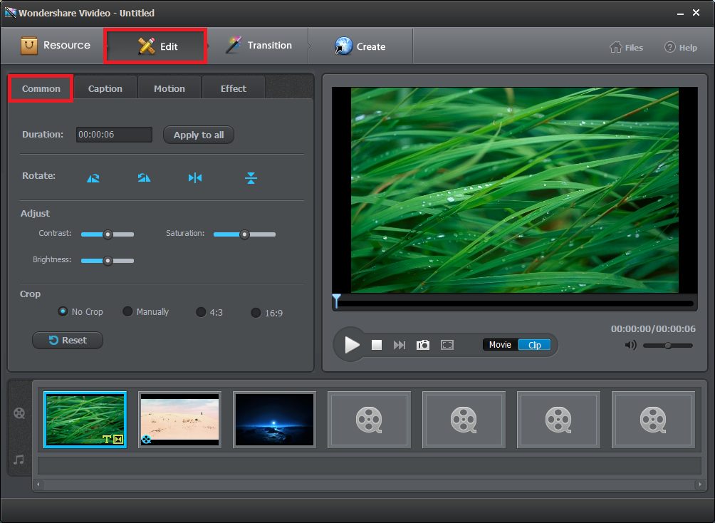 how to add text in wondershare video editor