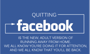 Quitting Facebook explained