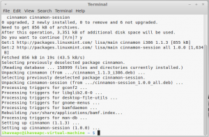 How To Install And Use Cinnamon Desktop In Linux Mint 12