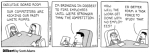 Corporate layoffs funny