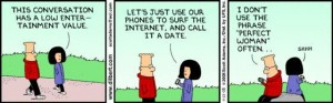 Geek dating Dilbert