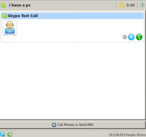 Active login to Skype in Linux Mint/Ubuntu