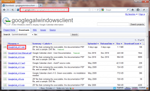 How To Install And Use Google Calendar Client In Windows 7