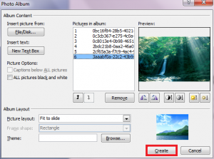 How To Quickly Insert Multiple Photos As Slides In PowerPoint 2007 / 2010