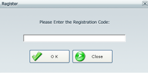 Registering the application