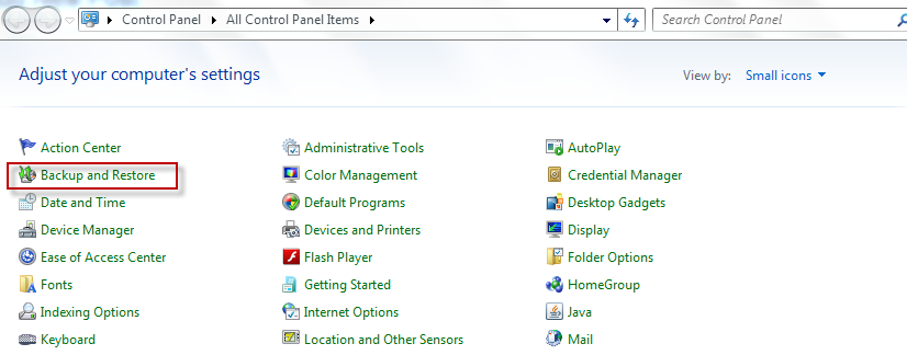 How To Create A Windows 7 System Image - I Have A PC | I
