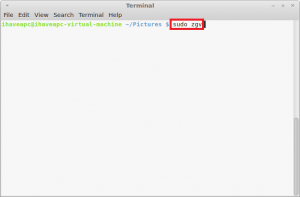 How To Browse Images In A Folder Using Terminal In Linux Mint / Ubuntu