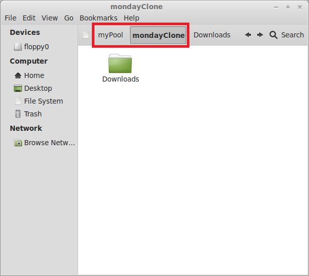 If you wish to keep a copy of the snapshots on another system, this screen is used to indicate which system to send