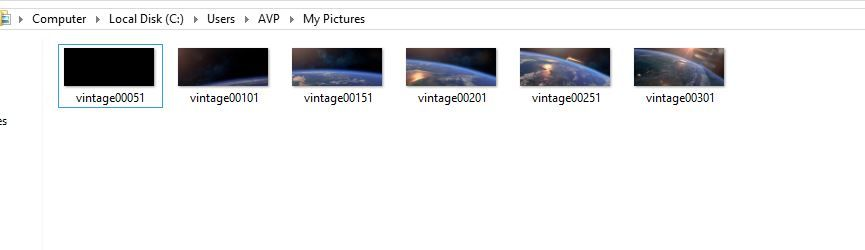vlc how to automatically take stills