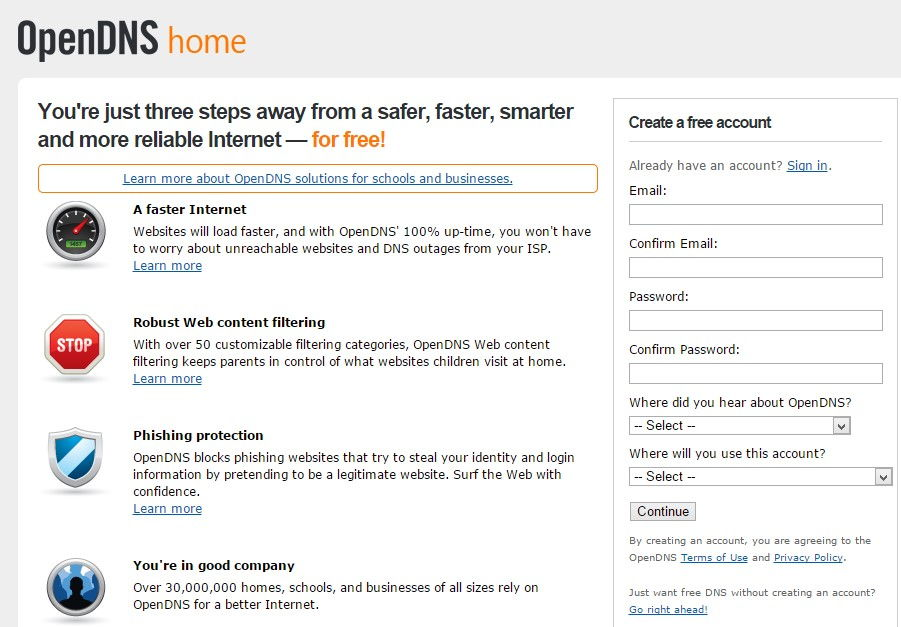 A Brief Reintroduction to OpenDNS