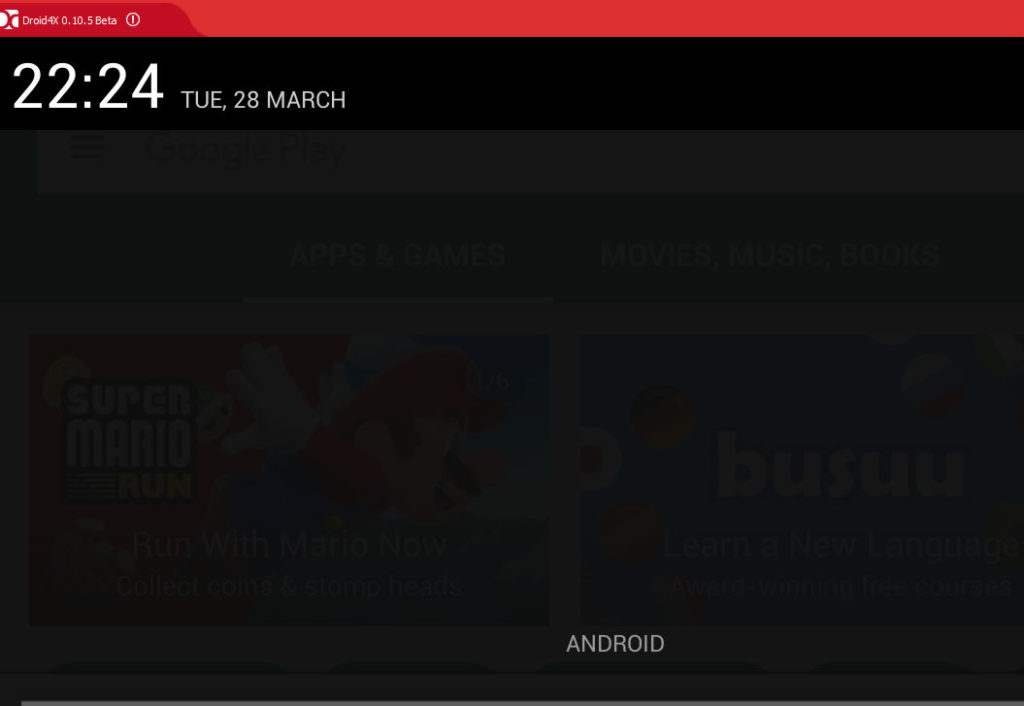 how to use android apps on pc