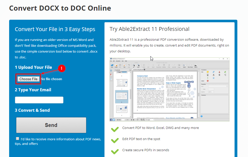 How to convert docx to doc online for free i have a pc - How to open docx files without office ...